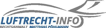 Rechtsanwalt für Luftrecht Matthias Pöhlmann in Zwickau